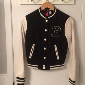H & M Divided Varsity Style Jacket